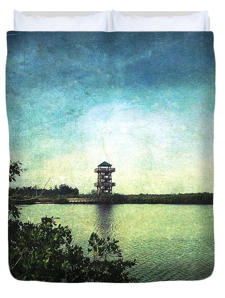 Fire Tower Duvet Cover
