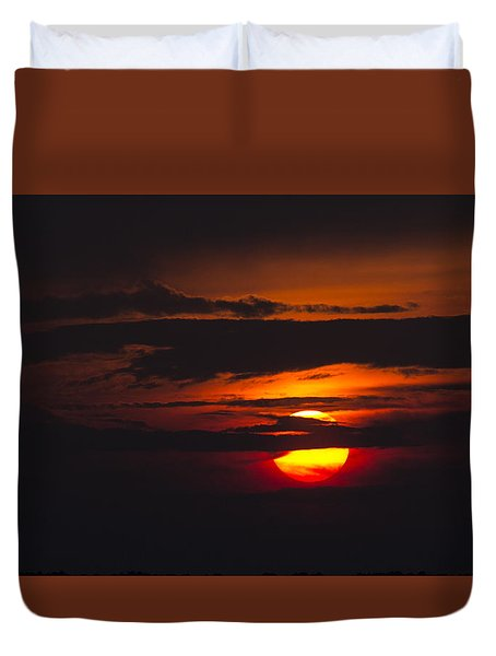 Fireball Duvet Cover