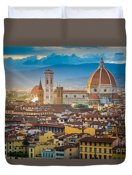 Firenze Duomo Duvet Cover