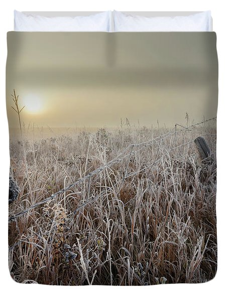 First Frost Duvet Cover