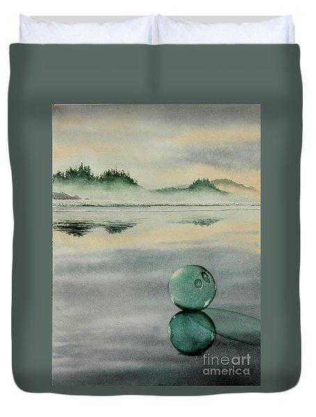 Fish Net Float Duvet Cover