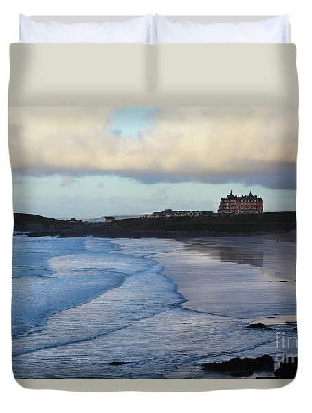 Fistral Beach Duvet Cover