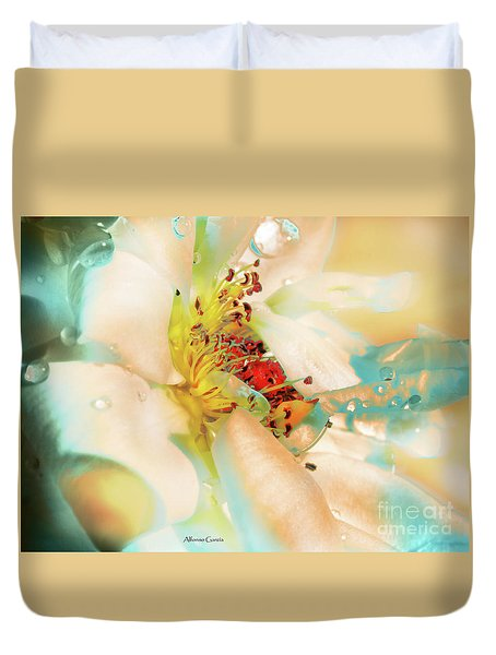 Flor Duvet Cover
