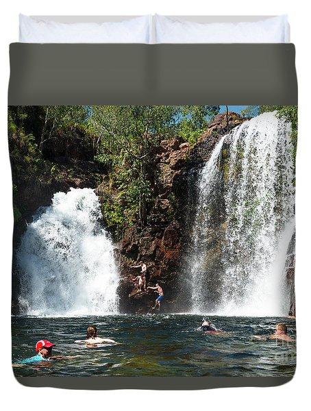 Florence Falls Duvet Cover