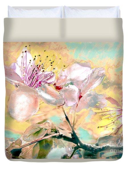 Flores De Primavera Duvet Cover