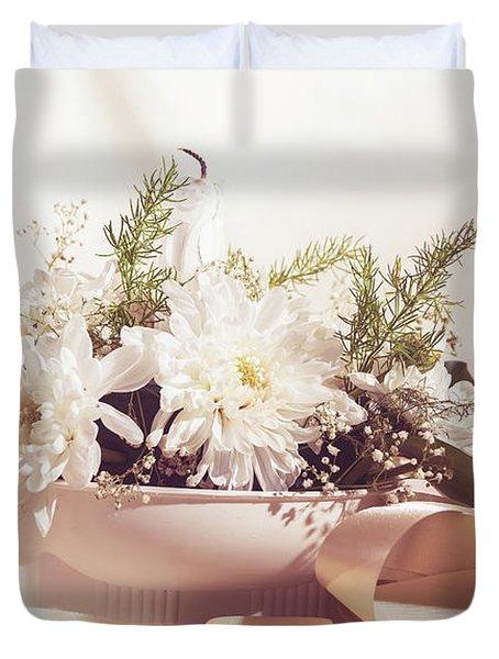 Flower Bouquet Duvet Cover