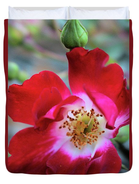 Flower Dance Duvet Cover by Victor K