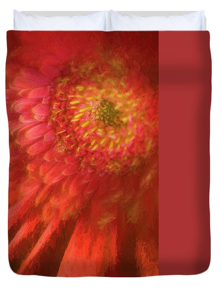 Flower Duvet Cover by George Robinson