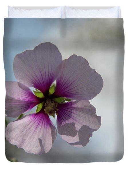 Flower In Focus Duvet Cover