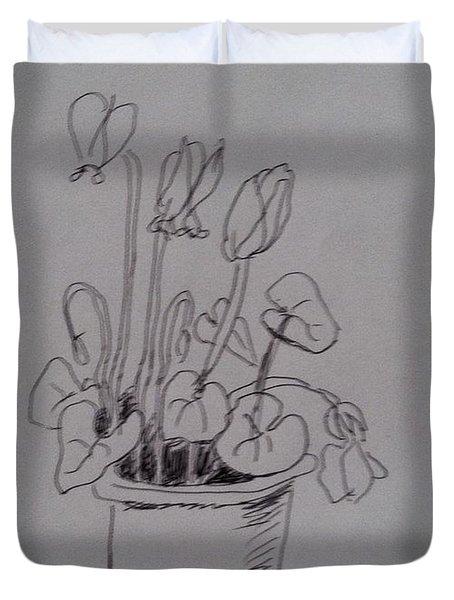 Flower Pot Duvet Cover