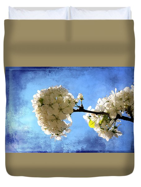 Flowering Duvet Cover
