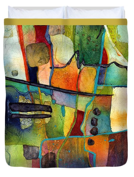 Fluvial  Mosaic Duvet Cover