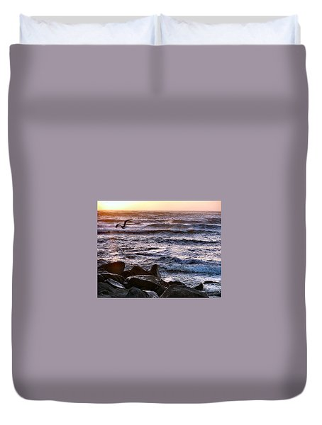 Fly By Duvet Cover by Dana Patterson