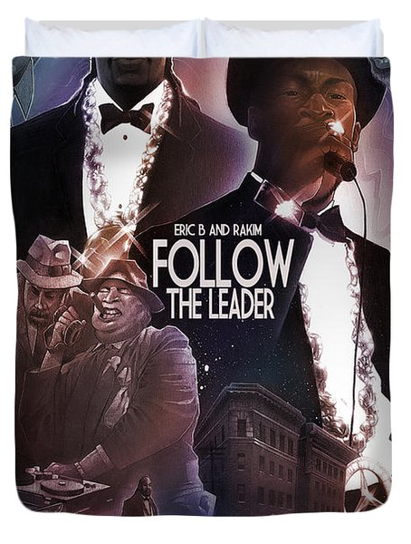 Follow The Leader 2 Duvet Cover