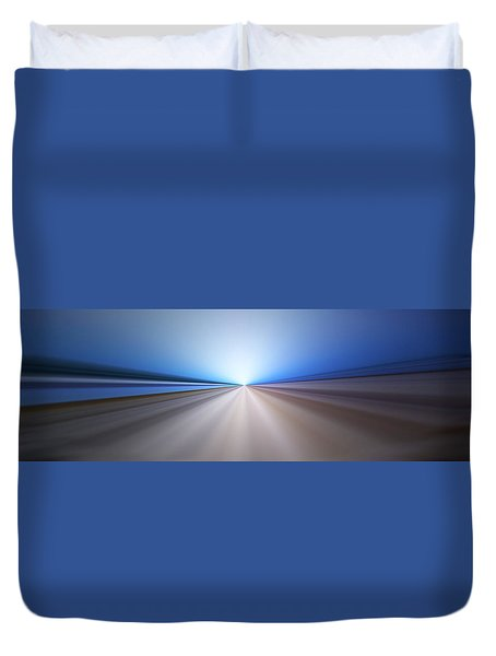 Follow The Light Duvet Cover