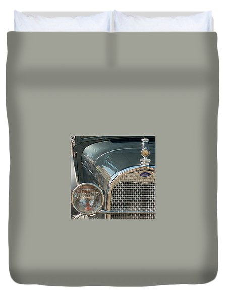 Ford Grill Duvet Cover