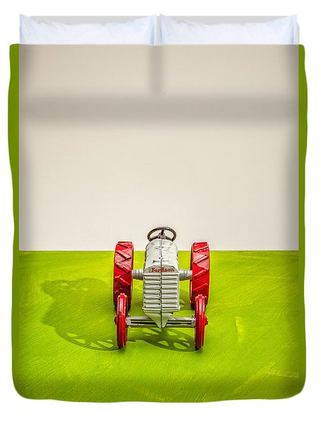 Fordson Tractor Front Duvet Cover