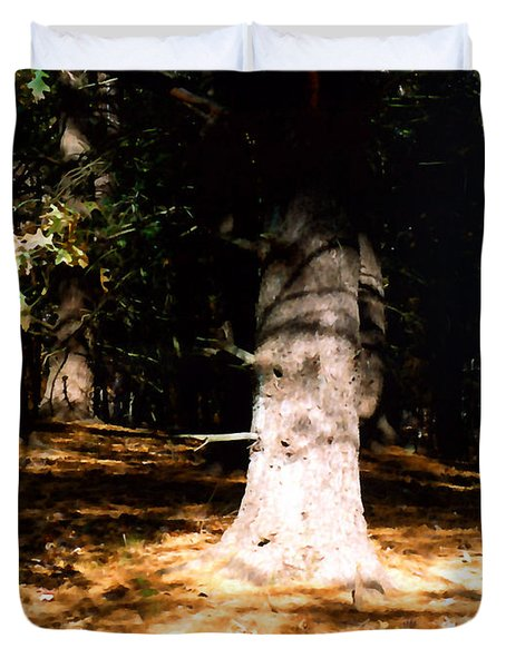 Forest Entrance Duvet Cover by Paul Sachtleben