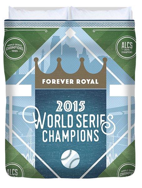 Forever Royal Duvet Cover