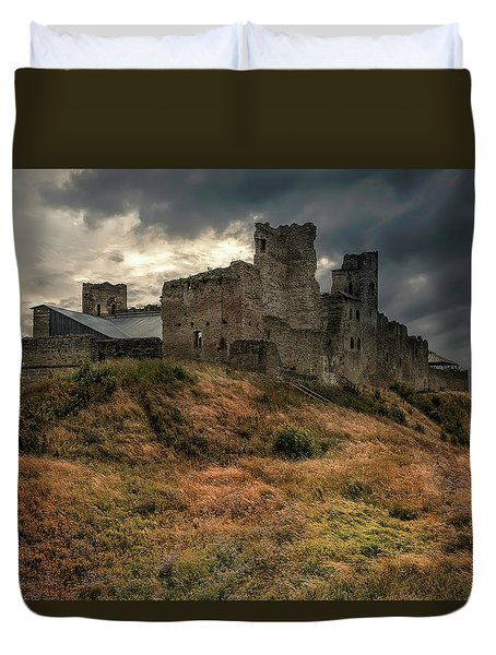 Forgotten Castle Duvet Cover