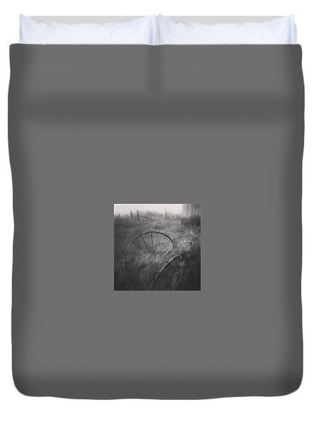 Forgotten Duvet Cover by Jim Vance