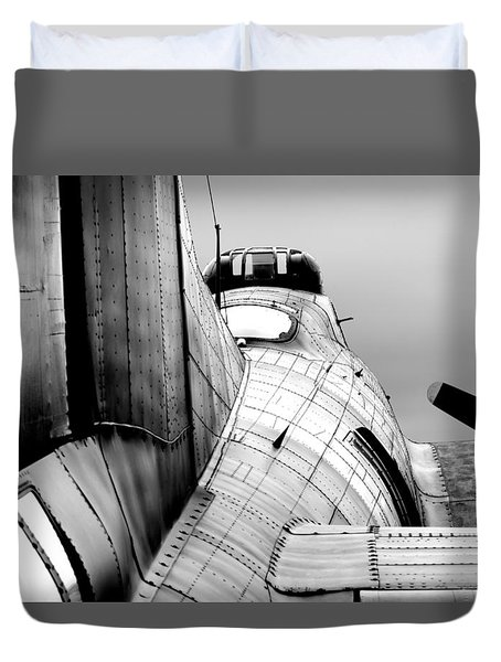 Fortress Of Steel Duvet Cover