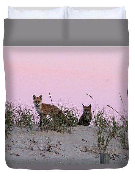 Fox And Vixen Duvet Cover