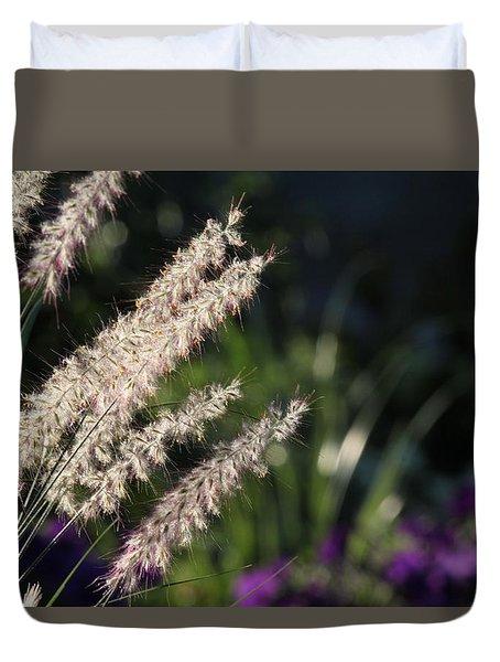 Foxtail Duvet Cover