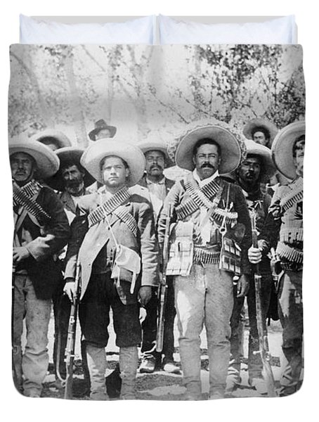 Francisco Pancho Villa Duvet Cover