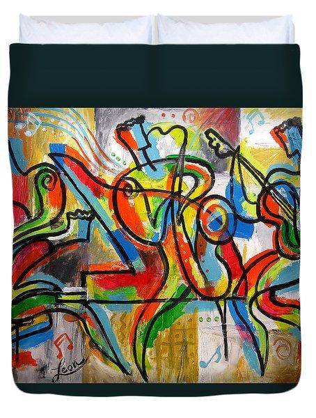 Free Jazz Duvet Cover