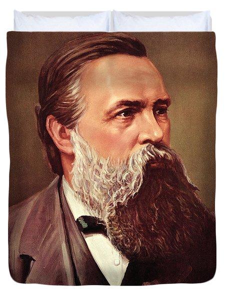 Friedrich Engels Duvet Cover