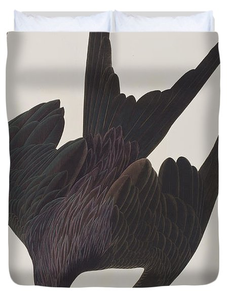 Frigate Pelican Duvet Cover by John James Audubon