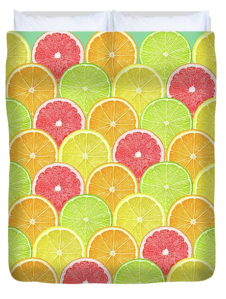 Fresh Fruit  Duvet Cover