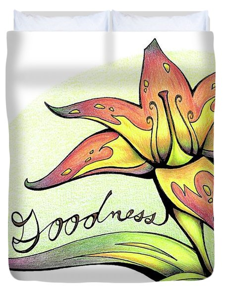 Fruit Of The Spirit Series 2 Goodness Duvet Cover