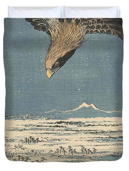 Fukagawa Susaki And Jumantsubo Duvet Cover