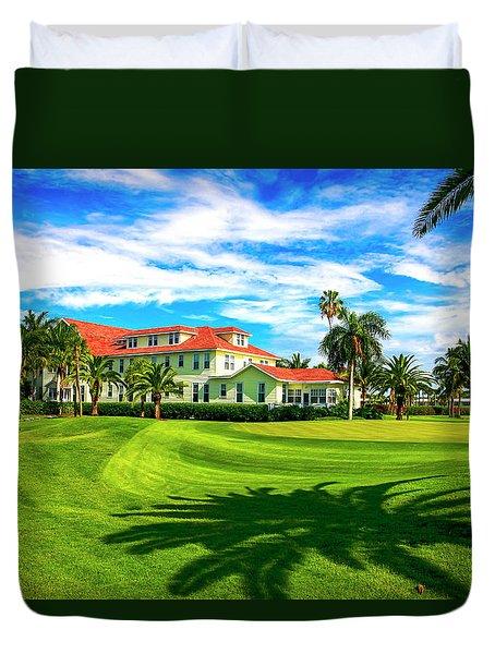 Gasparilla Inn, Boca Grande Fl Duvet Cover