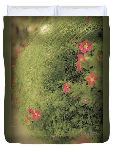Gems In The Grass Duvet Cover