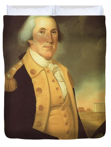 General George Washington Duvet Cover