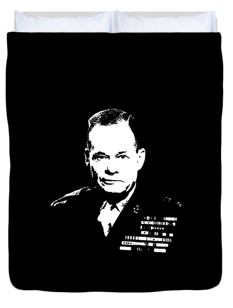 General Lewis Chesty Puller Duvet Cover by War Is Hell Store