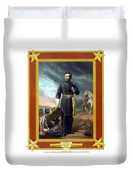 General Us Grant Duvet Cover