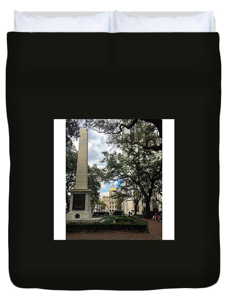 Historic Savannah Duvet Cover