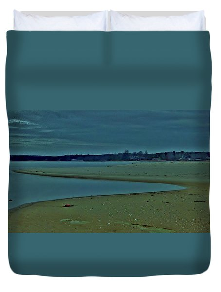 Georgica Pond Duvet Cover