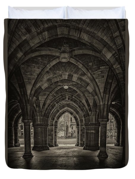 Glasgow University Cloisters Duvet Cover