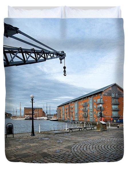 Gloucester Docks Duvet Cover
