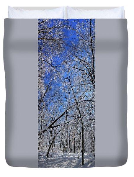 Glowing Forest, Knoch Knolls Park, Naperville Il Duvet Cover
