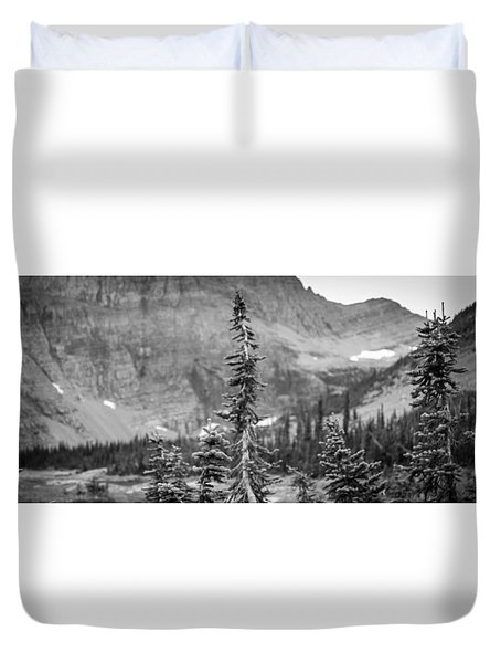 Gnarled Pines Duvet Cover