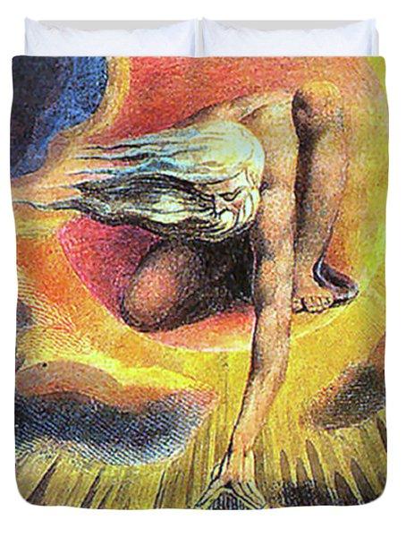 God As Architect Duvet Cover