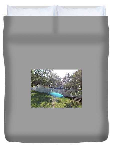 Gods Backyard Duvet Cover
