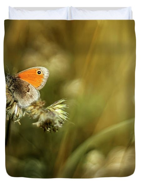 Golden Fields Duvet Cover