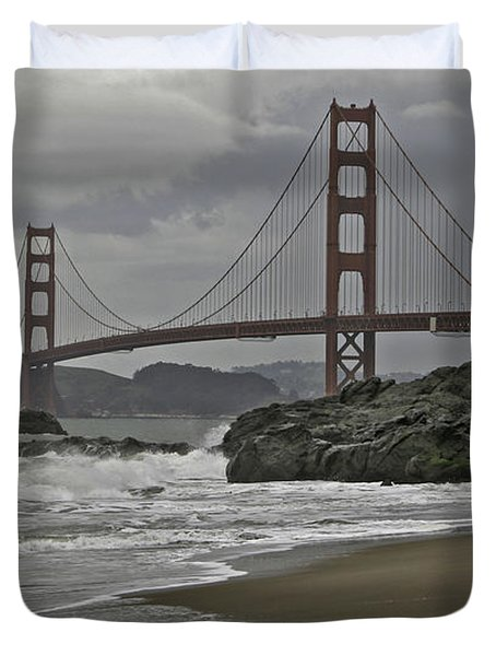 Golden Gate Study #1 Duvet Cover